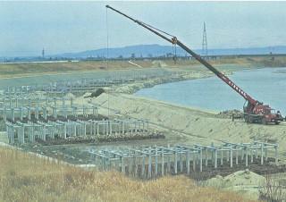 矢作川水制工事