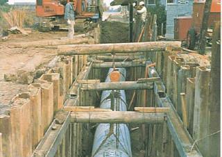 衣浦幹線導水管工事