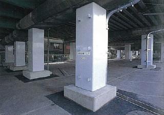 23号港陽高架橋脚耐震補強工事