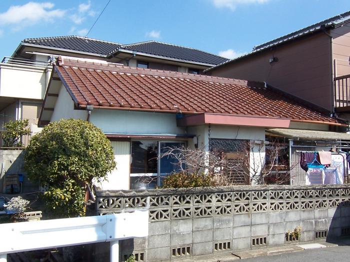 昭和43年に建築された16坪の平屋建ての住宅です